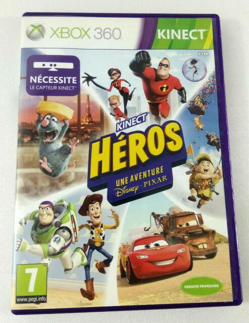 XBOX 360 VF  Kinect Heros  PAS DE JEU Uniquement BOITE VIDE  Envoi suivi