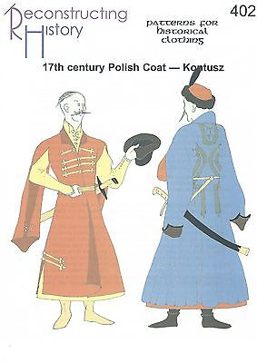 Patrones de corte Rh 402 Paper pattern Polish kontush