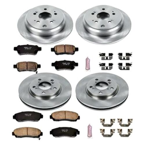 For Honda Odyssey 05-10 Brake Kit K4044 1-Click Autospecialty Replacement Plain