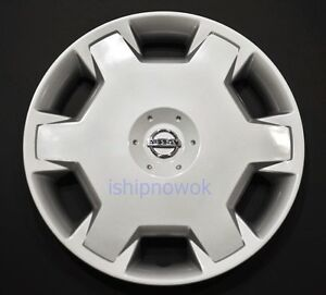 "15"" Wheel Cover fits 07-10 Nissan Versa / 09-14 Cube Hubcap Rim Silver NEW"