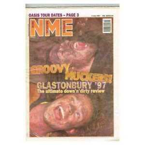 New Musical Express NME Magazine 5 July 1997 npbox237 Glastonbury '97