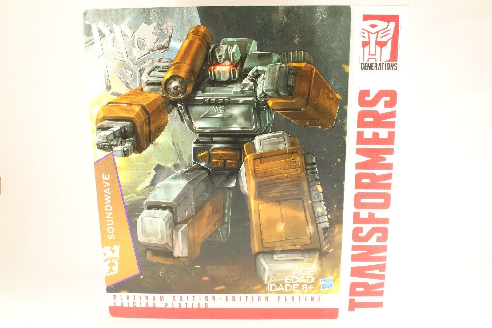Transformers obra maestra Año de la cabra Soundwave Cassettes No Platinum