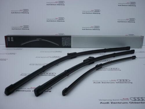 Wischerblätter Audi A6 Mod.4G vorne und hinten Original Audi Scheibenwischer
