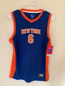 reputable site 7897b 2bd6b Details about Kristaps Porzingis New York Knicks Fanatics Branded TX3 COOL  (Youth) jersey NWT