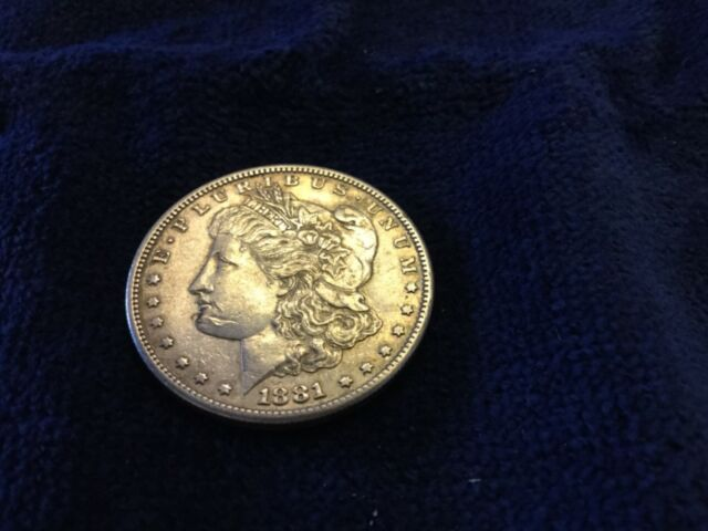 1881 S 1 Morgan Silver Dollar For Sale Online Ebay
