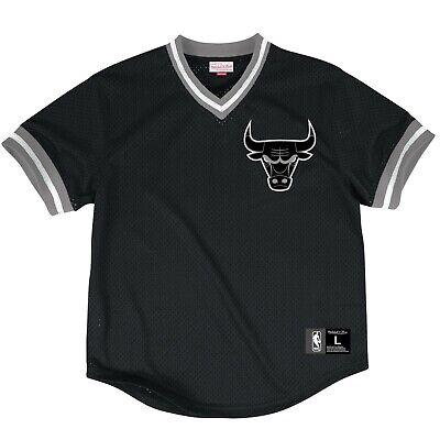 Activewear Activewear Tops Impartial Mitchell & Ness Herren Chicago Bulls Nba Netz V-ausschnitt Top Shirt Neu Größe Excellent In Cushion Effect