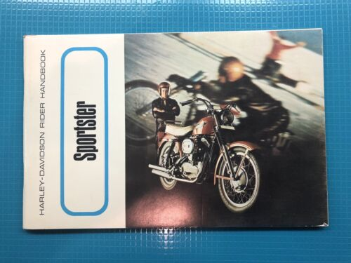 1969 Harley Davidson Sportster Uncirculated Owners Manual