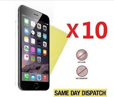 10 X Apple iPhone 7 Plus 5.5 Anti-Glare Matte Screen Protectors Film Cover Cloth