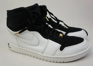 d0a98c86ac6b4c Nike Air Jordan 1 I Retro High Hi EQUALITY BHM Black White Size 14 ...