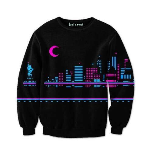 In Made Usa Beloved Small 3xlarge Urbano Notte Nuovo Felpa Shirts Personalizzato ax7q17zgw