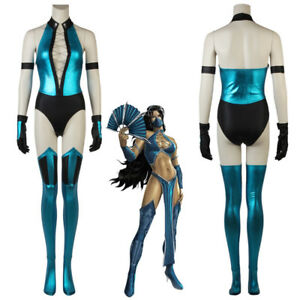 Mortal Kombat X Kitana Cosplay Costume Ebay