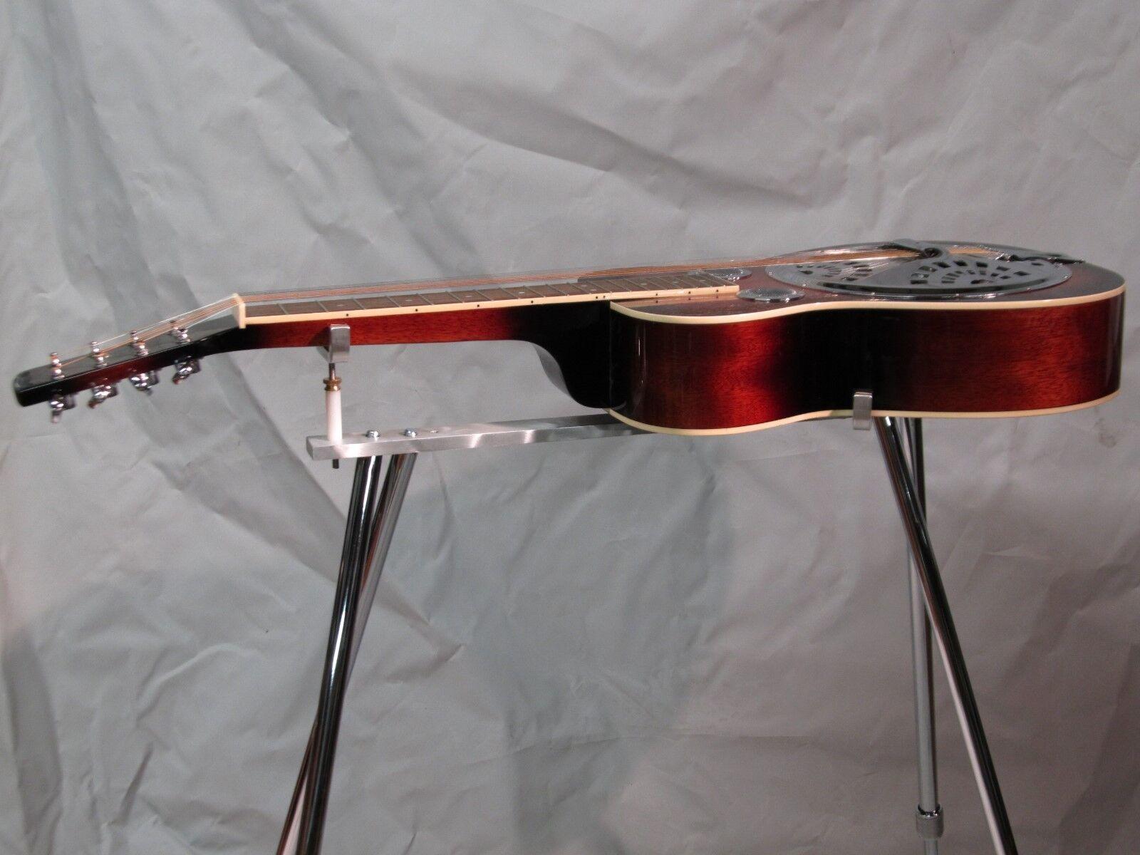 Resonator Lap Steel Guitar Stand Musical Instrument Stand Universal 4 Legs