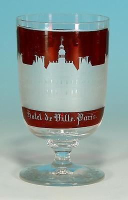 "Frankreich:paris, Ansichtenglas Paris"" Hotel De Ville. Paris"" Circa 1860 Dinge Bequem Machen FüR Kunden"