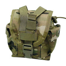 Flyye Tactical Canteen Utility Water Bottle Pouch MOLLE Airsoft Hiking MultiCam