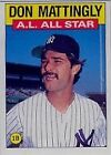 1986 Topps Don Mattingly #712 Baseball Card