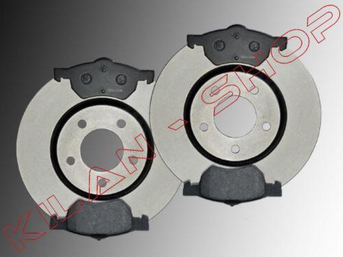 2 Bremsscheiben /& Keramik Bremsklötze Vorne Chrysler Voyager RG 2001-2007 302mmØ