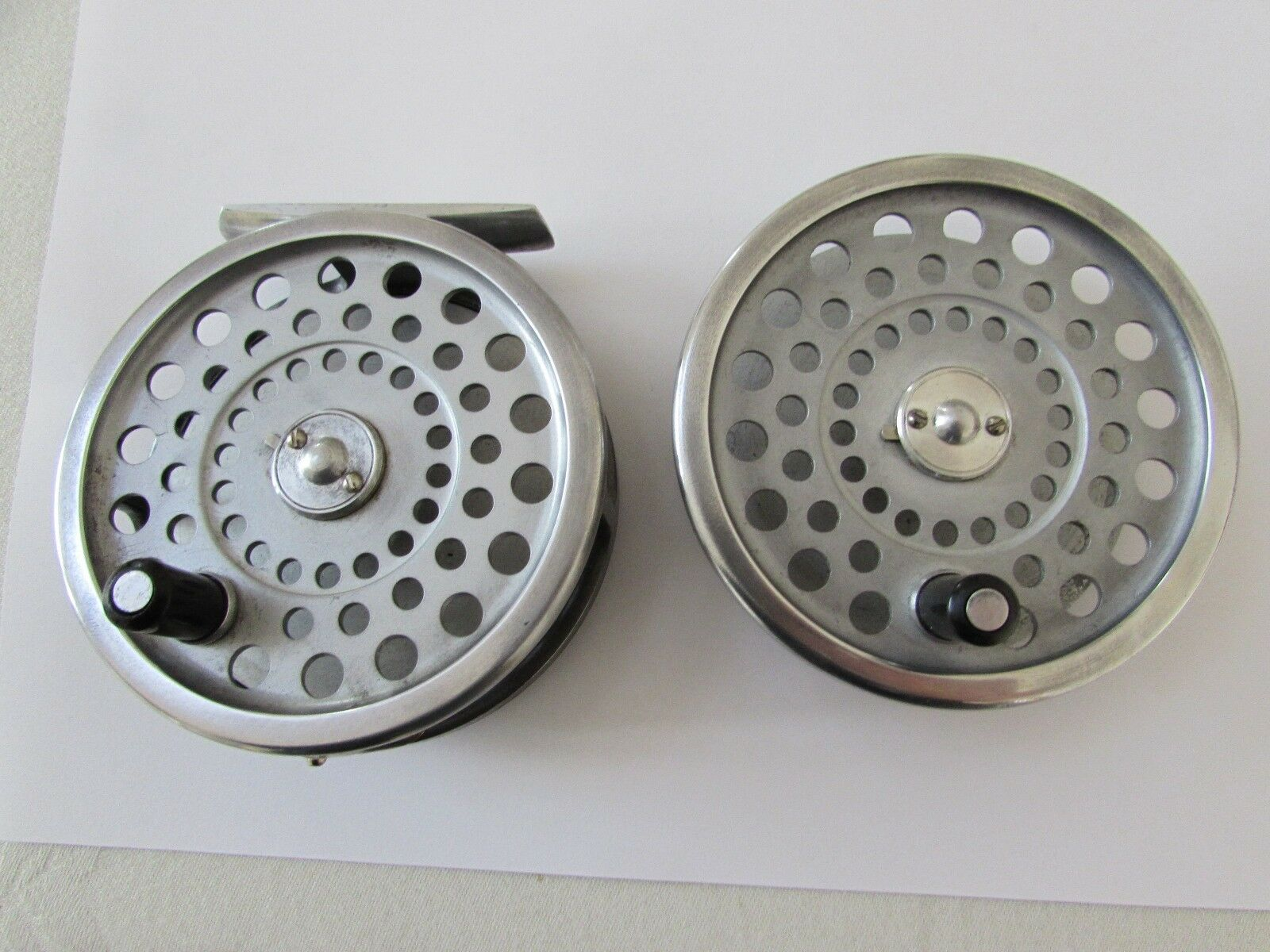 Very good original vintage hardy marquis no. 7 trout fly fishing reel + spool .