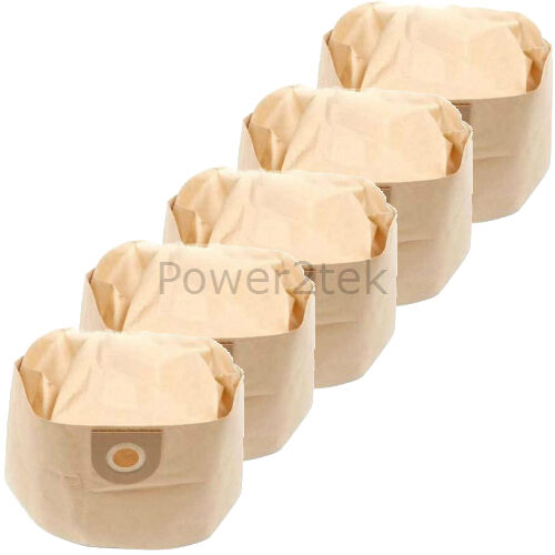 5x 1S Vacuum Cleaner Bags for Vax VEC-31 VO-4000 Wet /& Dry VO-4000 Hoover NEW