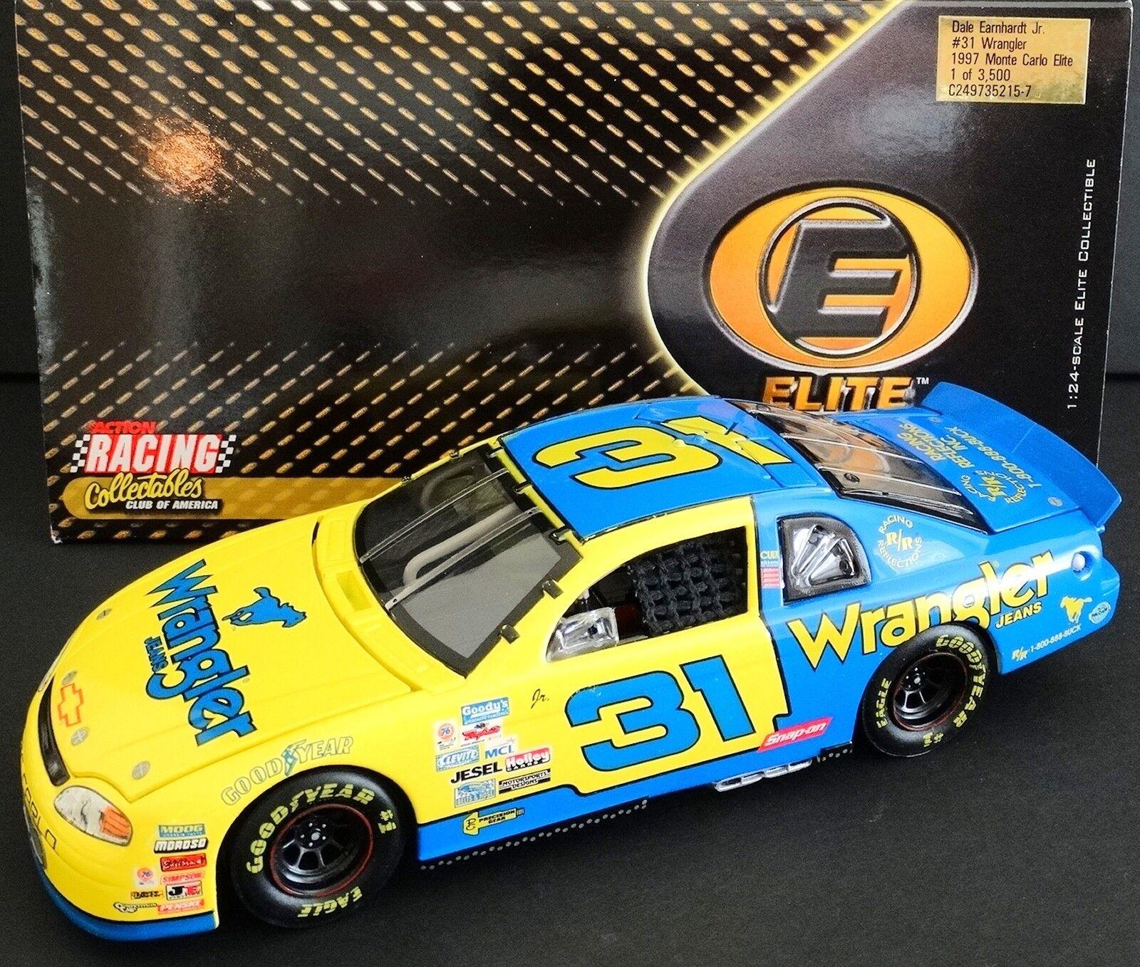 Dale Earnhardt, Jr. Vaquero 1 24 Elite Rookie 1997 Monte Carlo 2120 3500