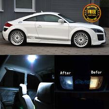 6x Canbus White LED Package Kit Interior Light For 2007-2012 Audi TT TTS
