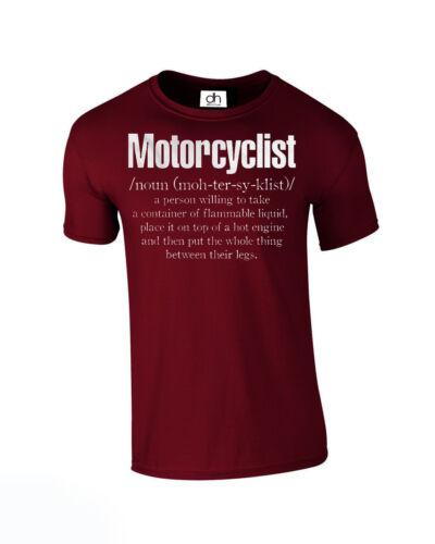 Motorcyclist Biker T SHIRT Xmas Dad Grandad Bike Birthday Fathers NOUN,TSHIRT
