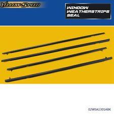 Car Window Moulding Trim Weatherstrips Seal Fit For Honda Civic Sedan 2006 2011 Fits 2006 Civic