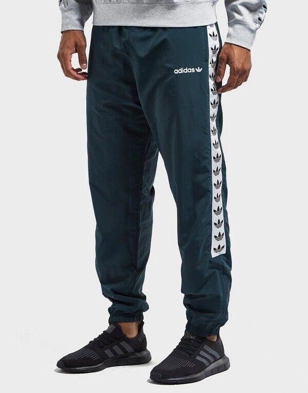 M-XL ADIDAS Originals Herren Jogginghose TNT Tape Wind Trainingshose schwarz Gr