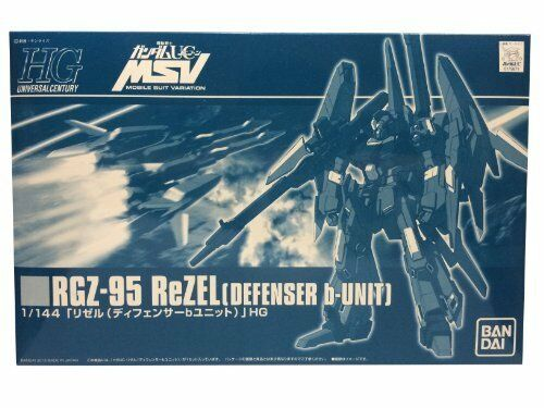 BANDAI HGUC 1  144 RGZ -95 ReZEL DEFENSER b -UNIT Plastic modellllerler Kit Gundam UC japan