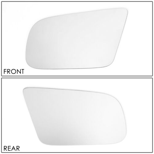 FOR 1987-1993 FORD MUSTANG LH//LEFT SIDE REAR VIEW MIRROR GLASS REPLACEMENT LENS