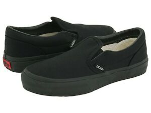 mens all black vans sale
