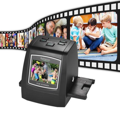 High Resolution 22MP Photo Scanner 135//35//126//110//8mm Slide Digital Film Scanner