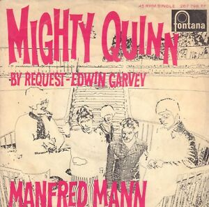 MANFRED-MANN-Mighty-Quinn-1968-SINGLE-7-034-45-DUTCH-PS