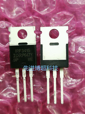 Vdss=-100V, Rds =0.06ohm, Id=-40A on 5 PCS IRF5210 TO-220 F5210 Power MOSFET