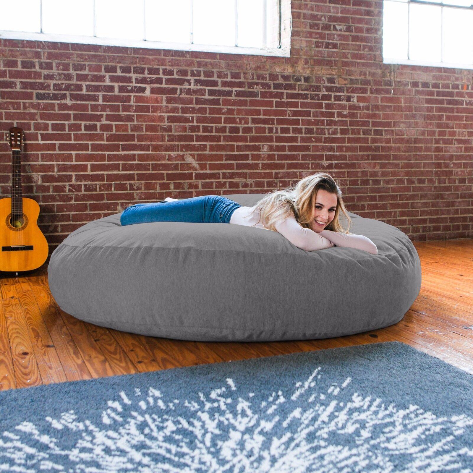 Jaxx 6 Foot Cocoon - Giant Bean Bag Lounge for Adults - Premium Chenille Startseite