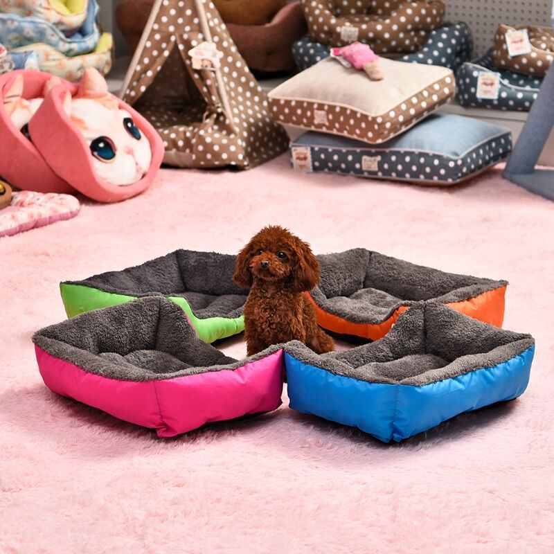 Large Pet Dog Cat Bed Puppy Cushion House Pet Soft Warm Kennel Dog Mat Blanket 4