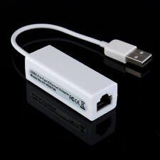 SCHEDA DI RETE USB 2.0 ETHERNET RJ45 CAVO ADATTATORE LAN NETWORKING INTERNET