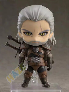 The-Witcher-3-Wild-Hun-Geralt-de-Rivia-Q-Ver-Figura-Estatua-Modelo-De-Pvc-10cm-Juguetes