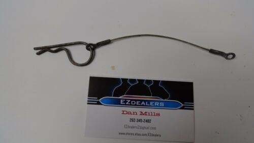 """Arctic Cat Snowmobile 0607-447 Belt Guard 5/"""" Hairpin Cable and Hair Pin"""