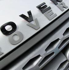 Gloss Black bonnet Lettering LAND ROVER Freelander 1/2/ LR2 badge logo font new