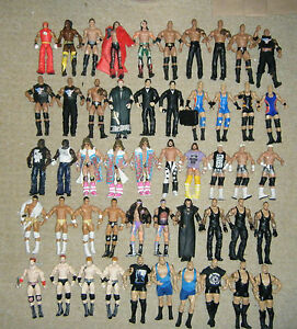 Wwe Elite Wrestling Figurine Action Figurine Série Mattel Legends Tru Ringside