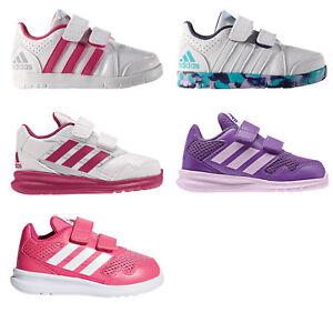 ff96aa338375a8 Das Bild wird geladen adidas-Performance-Klettverschluss-Sommerschuhe- Kleinkind-Schuhe-Maedchen-Sneaker