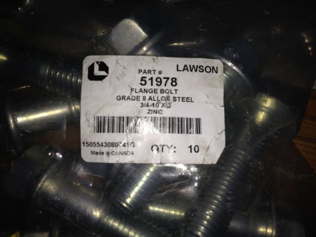 7//16-20 Fine Thread Grade 8 Hex Jam Nut Alloy Steel Yellow Zinc Plated Pk 100