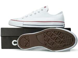 Converse-Unisex-All-Star-OX-Classic-Trainers-Retro-Sneakers-Low-Tops-White