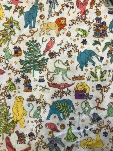 Liberty of London Tana Lawn Tissu de coton Noël Imprimer 50cmx135cm