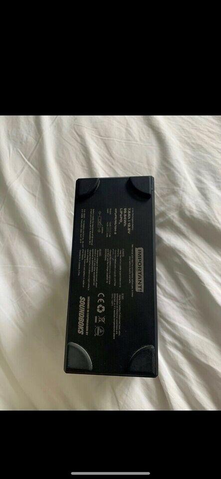 Højttaler, Andet mærke, Soundboks Batteri