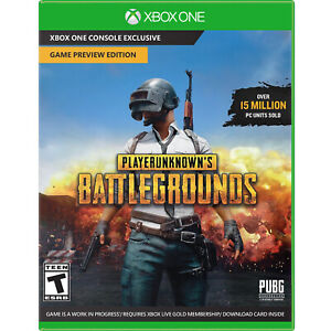 PlayerUnknown's Battlegrounds - Game Preview Edition Xbox One [Brand New]
