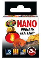 Zoo Med Nano Infrared Heat Lamp 25 / 40 Watts