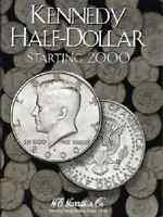 Kennedy Half Dollar Coin Folder Album 3, Starting 2000 By H.e. Harris