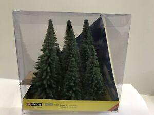 NOCH-25007-Gauge-H0-Tt-Model-Firs-7-Piece-New-Original-Packaging