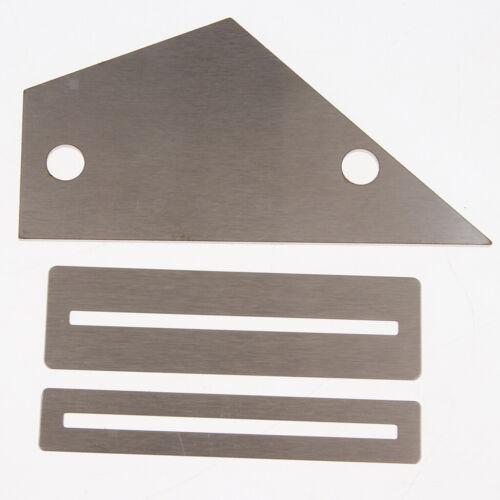 1x Gitarrenwerkzeug-Set Kit Bundwippe Schleifstein Bundfeile